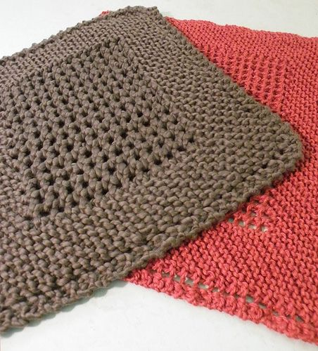 Knit A Dishcloth: Free Patterns
