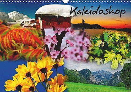 Kalender zum Selberdrucken - Kaleidoskop 2017: DIN A4 Querformat-Kalender mit deutschen Feiertagen
