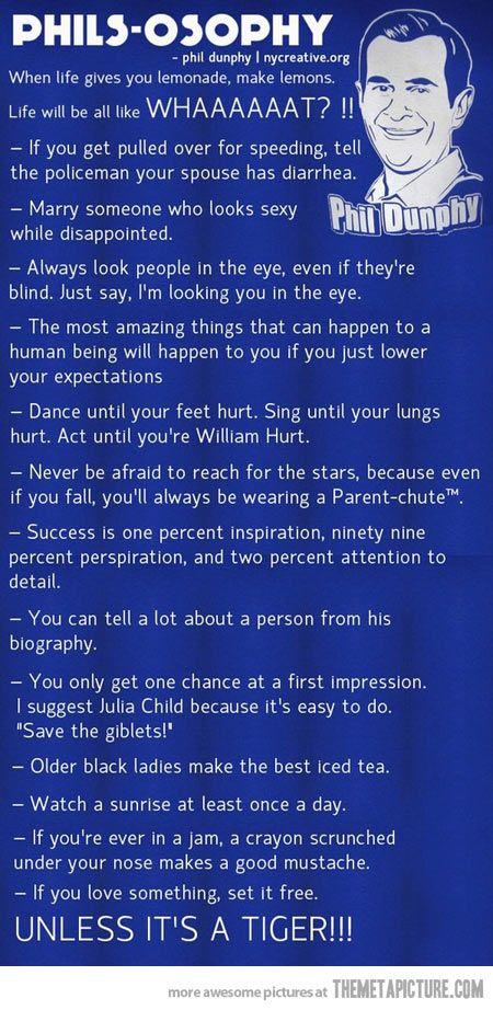 Oh Phil Dunphy…LOVE MODERN FAMILY!!!