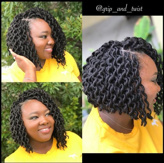 40 Short Crochet Hairstyles Curly Crochet Hair Styles Crochet Hair Styles Natural Hair Styles