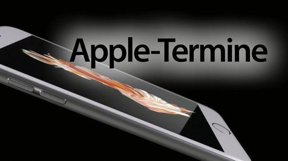 Überblick Apple Termine: iPhone 6S, AppleTV, iPad Pro - https://apfeleimer.de/2015/09/ueberblick-apple-termine-iphone-6s-appletv-ipad-pro - Neue Apple Produkte 2015: alle Termine zum neuen iPhone 6S und iPhone 6S Plus, dem neuen Apple iPad Pro sowie Apple Pencil und Apple iPad Keybord, iPad mini 4 aber auch dem neuen Apple TV mit tvOS und App Store haben wir hier für Euch zusammengefasst.   JETZT TERMINE IM KALENDER EINTRAGEN  ab ...