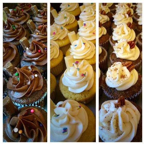 Feria de Cupcakes! Chocolate, vainilla y zanahoria