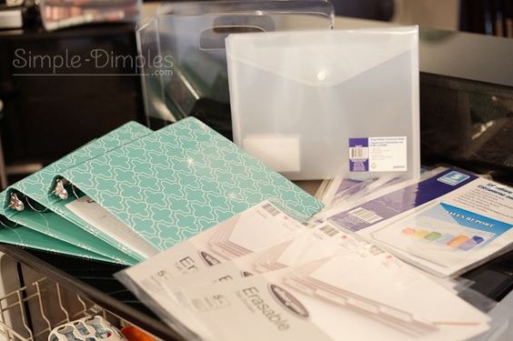 Simple Dimples: Organization Binders i really like her printables and system