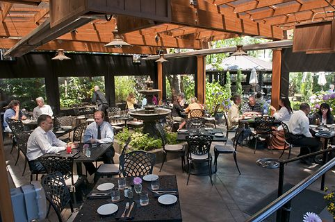 Oregon restaurant and fresco on pinterest for Patios portland oregon