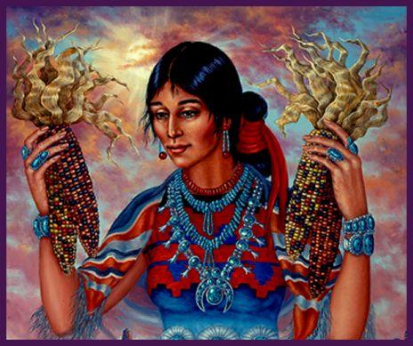 Círculos de Poder de la Diosa: Madre del Maíz.