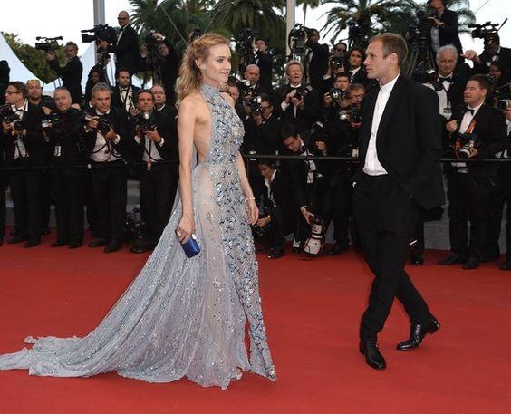 Festival de Cannes 2015: azul é a cor mais quente no red carpet