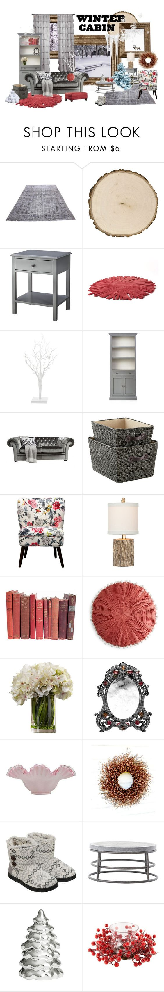 Threshold home decor shop for threshold home decor on polyvore -  Winter Cabin By Jane Pez Liked On Polyvore Featuring Interior Interiors