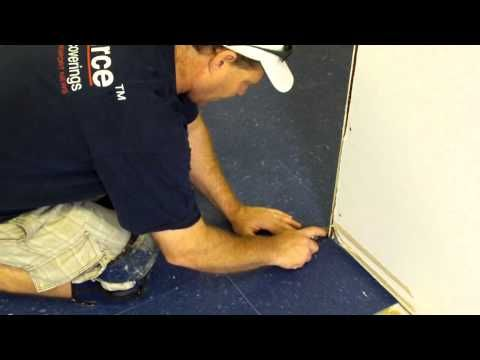 How To Cut VCT Tile Without A Tile Cutter - Please let it be this easy...
