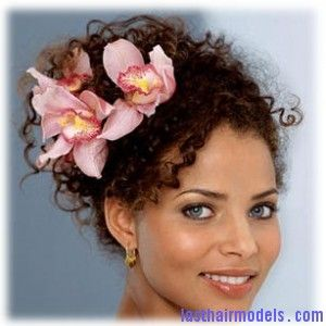 Swell Curly Hair Up Black Wedding Hairstyles And Pink Lily On Pinterest Hairstyles For Men Maxibearus