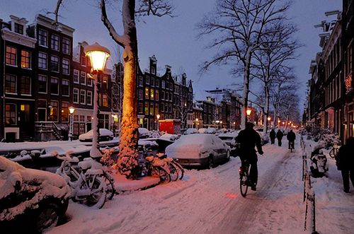 Amsterdam--went when I was little.. Im pretty sure it would be a lot more fun now