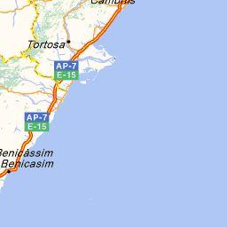 Carte Espagne ViaMichelin : Carte routière et Carte Géographique