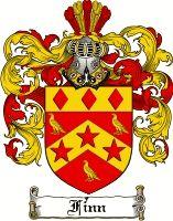 Finn Coat of Arms / Finn Family Crest