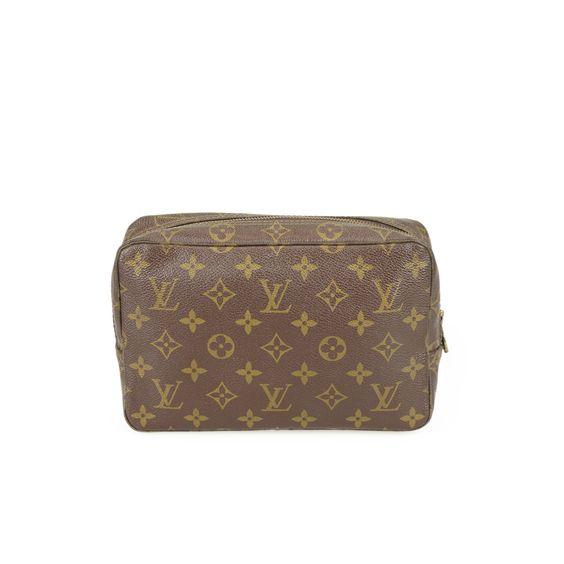 Glück & Glanz - Vintage Louis Vuitton & MCM - 100% Original I  Louis Vuitton Kulturtasche