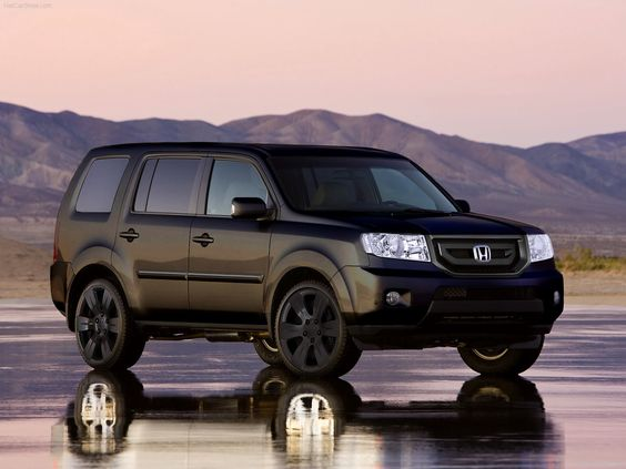 Honda Pilot Blacked out Just need those rims now!!!