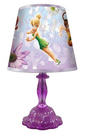 Kng 003972 Disney Fairies Rotating Lamp Http Www Amazon