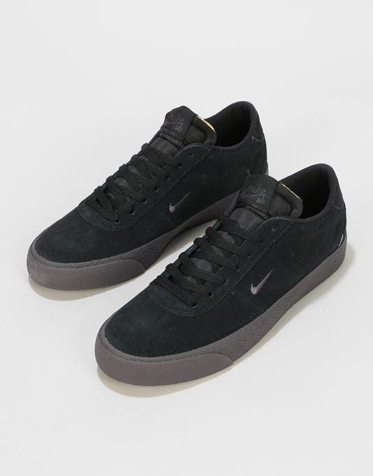 Caracterizar estrés combustible  Nike SB Zoom Bruin Ultra Skate Shoes - Black/Thunder Grey | รองเท้าผ้าใบ