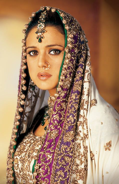 Preity Zinta in Veer Zaara