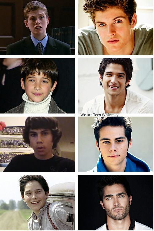 Puberty before and after boys