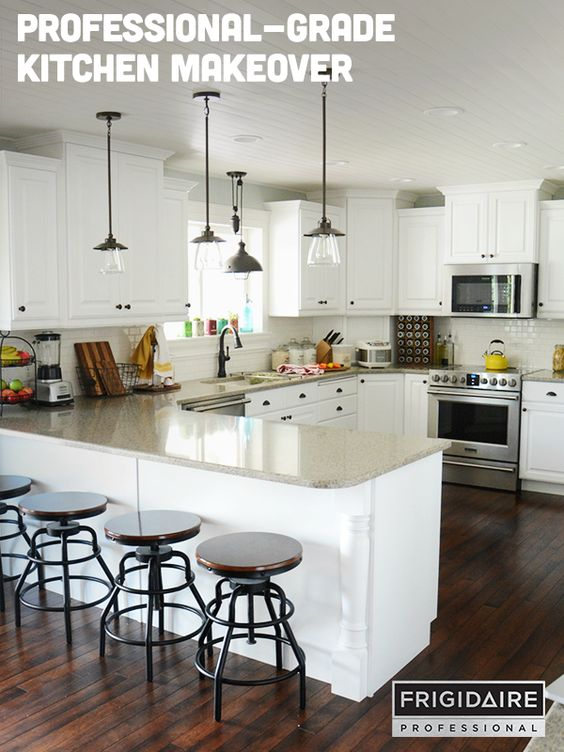 Light Fixtures, Kitchens And Stainless Steel Appliances On