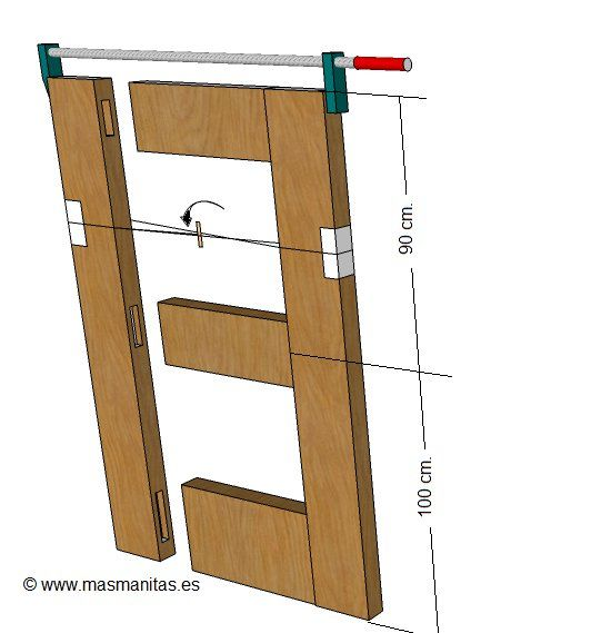 como hacer puerta de madera hazlo tu mismo diy pinterest