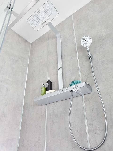 Spa Rain Shower The Complete System For All Showering Needs