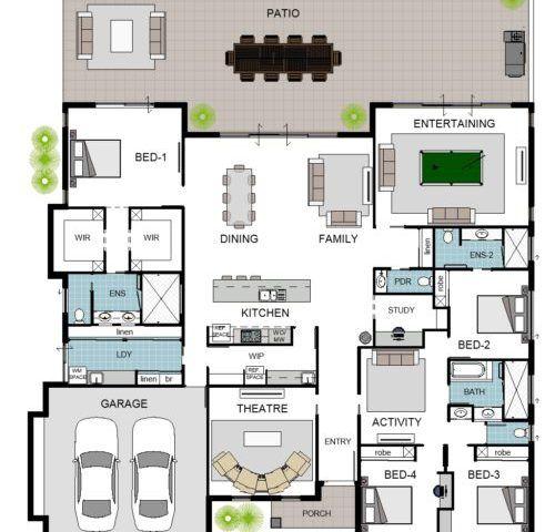 Floor Plan Friday Archives Katrina Chambers Dream House Plans Family House Plans New House Plans