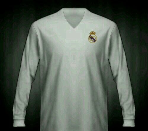 Real Madrid home shirt for 1953-54.