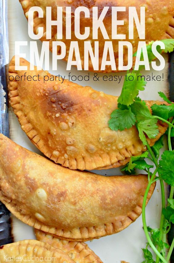 chicken empanadas | Empanadas, Chicken and Venezuelan Food