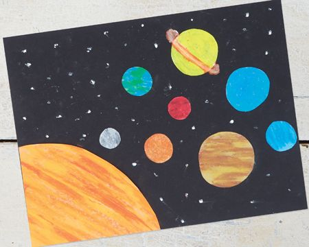 preschool planets art - photo #18