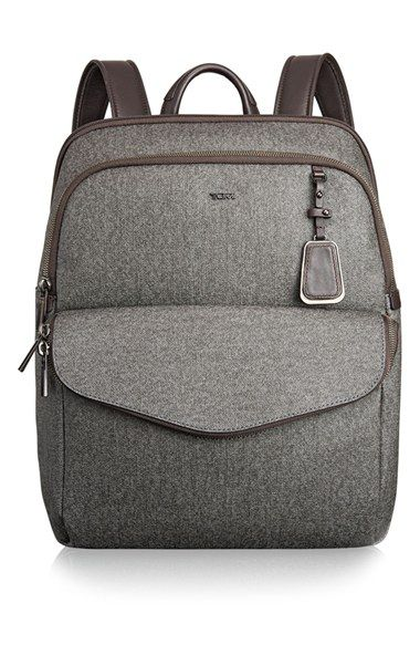 Free shipping and returns on Tumi 'Sinclair Harlow' Coated Canvas Laptop Backpack at Nordstrom.com. Ideal for business, commuting and everyday activities, this elegantly designed backpack is cut from textured, coated canvas and highlighted with rich leather trim. A separate laptop compartment ensures you can transport your computer safely, while plenty of organizer pockets give you space to stash small electronics and accessories. Best of all, a special pocket with Tumi ID Lock…