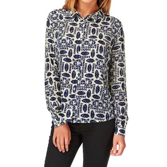Women's Element Veneda Long Sleeve Shirt - Natural