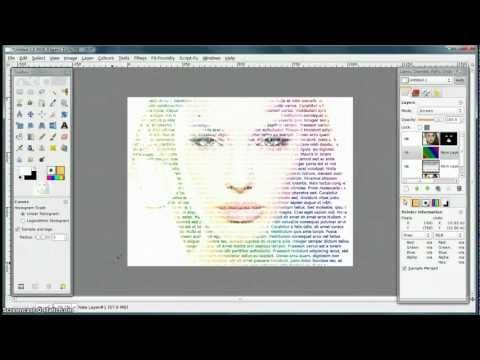 Gimp Tutorial Letters And Tutorials On Pinterest