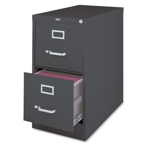 Lorell 26 1 2 Vertical File Cabinet 15 X 26 5 X 28 Aluminum Steel 2 X File Drawer S Letter Drawer Filing Cabinet Drawers 2 Drawer File Cabinet