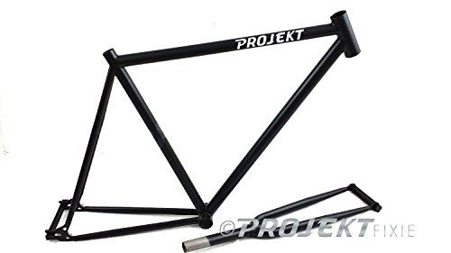 Projekt Fixie - Cycle Fixed Gear Road Singlespeed Bike Track Frameset Frame Fork, 54cm, Matte Black Projekt http://www.amazon.com/dp/B00LO3TX9G/ref=cm_sw_r_pi_dp_BS-hvb06XQD4E