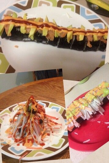 Neumann's homemade sushi