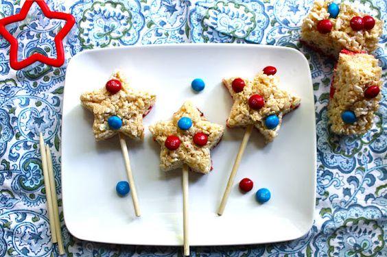 Star Rice Krispy Pops!