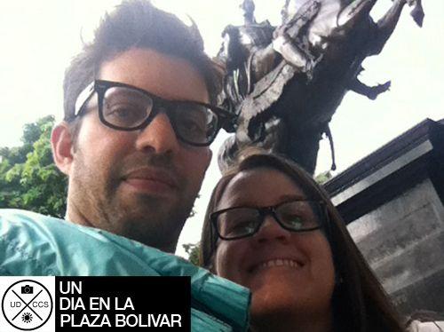 Un día en Caracas en la Plaza Bolívar