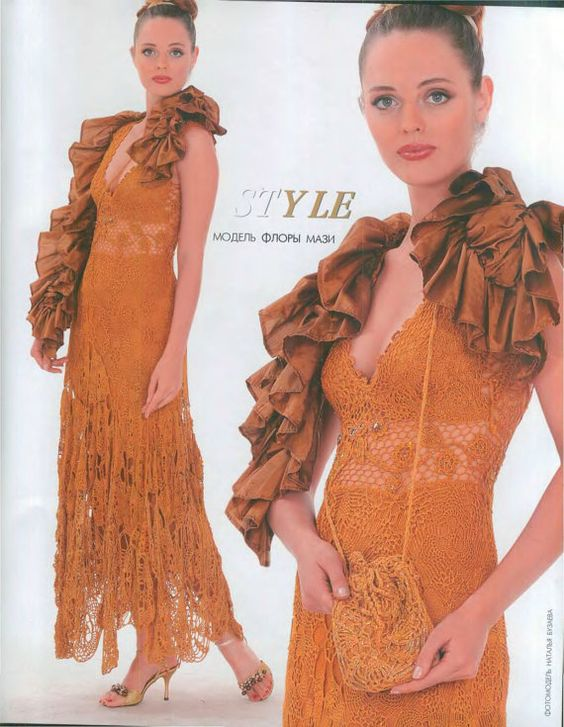 KNIT CROCHET PATTERNS women's cardigan lace by DupletMagazines