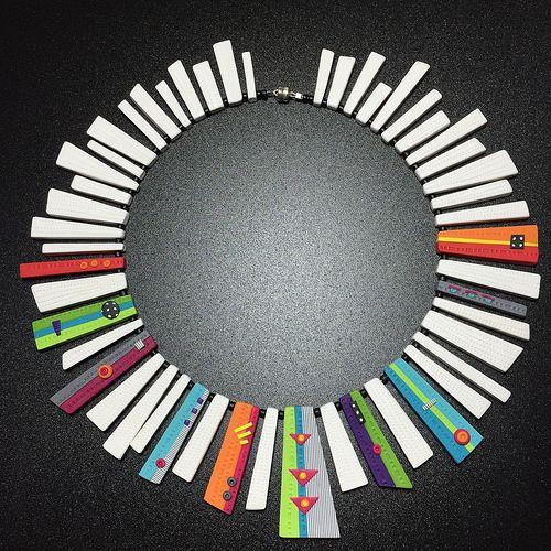 Modern Quilt Collar 1 (prototype)   Flickr - Photo Sharing!