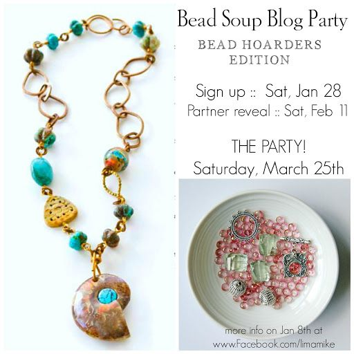 Announcement of the Bead Soup Blog Party -- Bead Hoarders Edition 2017: