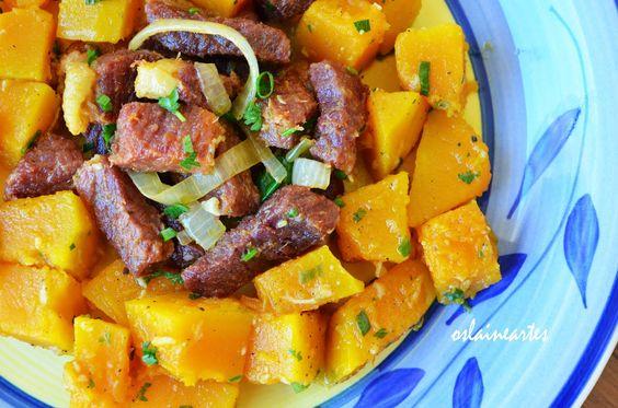 Oslaine Artes - Carne Seca e Salada de Abóbora