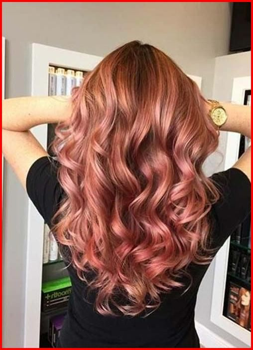 Rose Gold Ombre Hair Color Ideas With Images Hair Color Rose