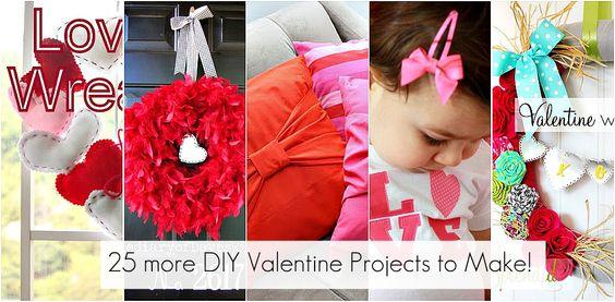 Great Ideas. 100+ Valentine Day Projects to Make!!