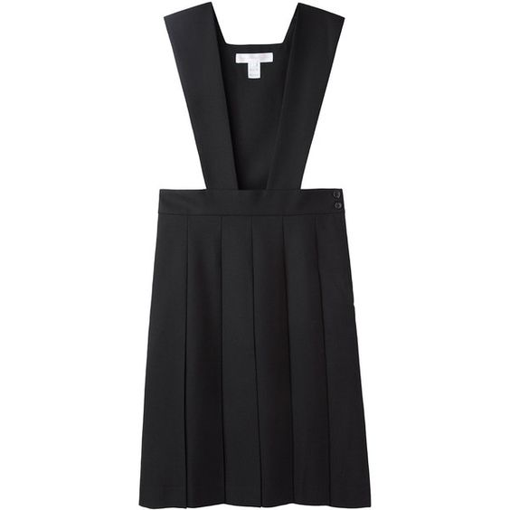 Comme des Garçons Shirt Overall Dress ($580) ❤ liked on Polyvore
