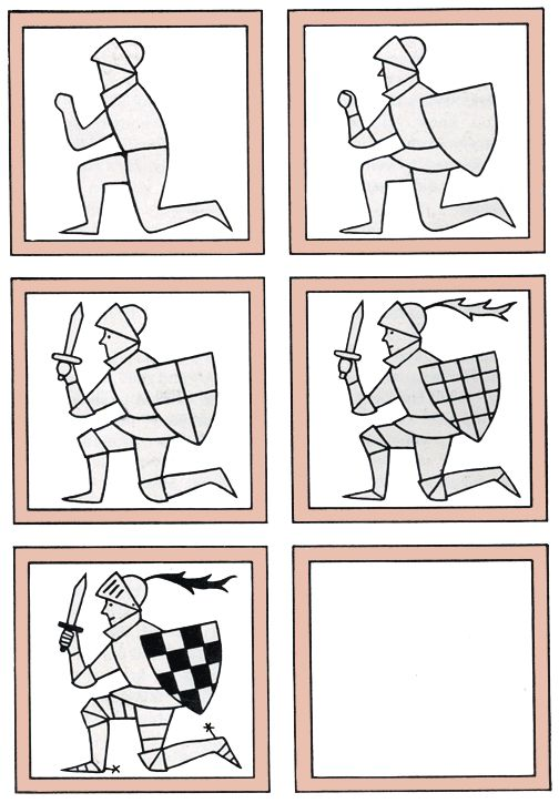 Kneeling Knight Drawing How to draw a knight k...