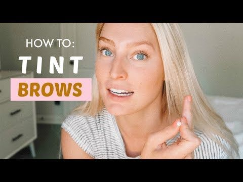 How To Tint Your Eyebrows For Super Light Brows Just For Men