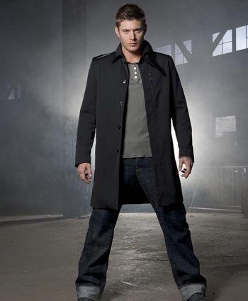 Promo shot of Jensen aka Dean. I love the look.