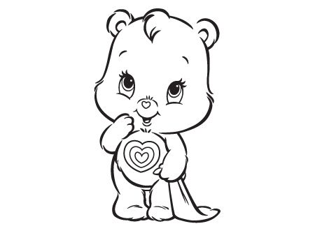 Care Bears coloring pages Coloring