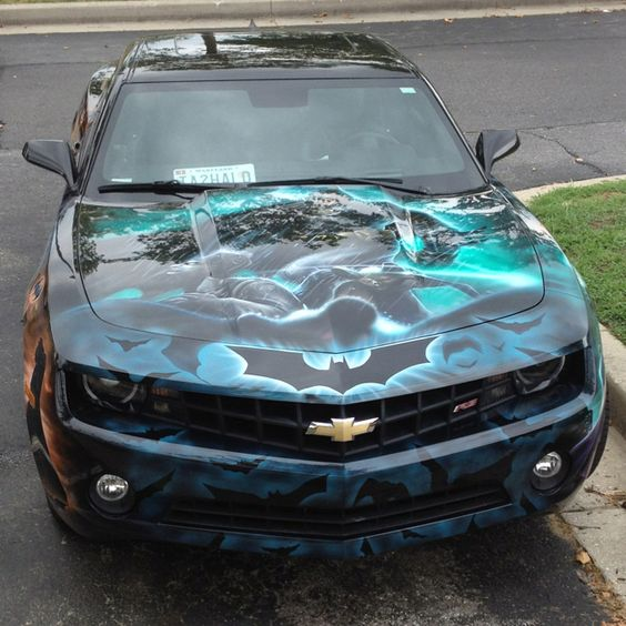 Best paint job I have ever seen on a car-bar none-and I grew up in the Motor City.