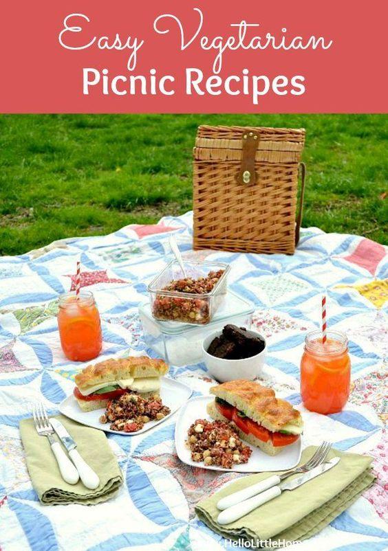 Easy Vegetarian Picnic Recipes!